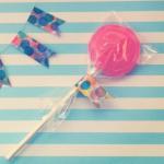 お菓子レシピ:棒付きキャンディーの作り方 手作りロリポップ