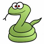 簡単な蛇(ヘビ)のイラストの描き方