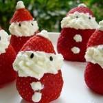 イチゴのサンタクロースの作り方いろいろ(クリスマスデザートレシピ)