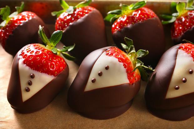 チョコレートレシピ: 画像 : バレンタインに☆イチゴを使ったチョコレートのレシピ